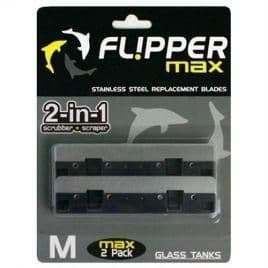 Fl!pper Max - Flipper for aquariums up to 25mm. Replacement Blades